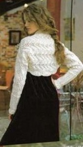 Lace bolero knitting pattern free 1
